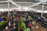 PAZARCI ESNAFI - Liman Mahallesi Kapalı Semt Pazarı Açıldı