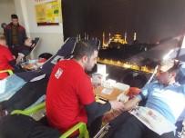 Malazgirtli Öğrencilerden Kan Bağışı