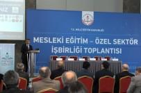 Mesleki Eğitim- Özel Sektör İşbirliği Toplantısı Eskişehir'de Yapıldı