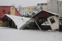 KAR ÖRTÜSÜ - Meteoroloji, Çatı Çökmelerine Karşı Uyardı