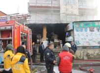 OKSIJEN - Nalbur Dükkanı Alevlere Teslim Oldu