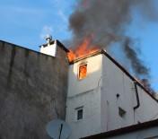 Ordu'da Otel Yangını Korkuttu