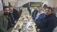 Osmaneli'de Görev Yapan Eski İle Yeni Gazeteciler Yemekte Buluştu