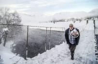 Ovacık'ta Kar Kartpostallık Manzaralar Oluşturdu