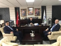 Pazaryeri Belediye Başkanı Yalçın'dan Başkan Bakıcı'ya Ziyaret