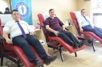 SAĞLIK ÇALIŞANLARI - Sağlık-Sen Üyelerinden Kan Bağışı Kampanyasına Destek