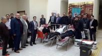 SAĞLIK ÇALIŞANLARI - Sağlıkçılardan Kan Bağışı