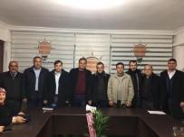 MEHMET AKıN - Salihlili Şoförlerden AK Parti Ve MHP'ye Ziyaret
