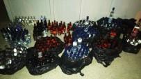 Şanlıurfa'da 345 Şişe Sahte İçki Ele Geçirildi