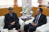 KAHRAMANLıK - Şehit Ömer Halisdemir'in Babasından Rektör Demirdağ'a Ziyaret