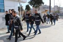 HIRSIZLIK BÜRO AMİRLİĞİ - Tütün Hırsızı 4 Şahıs Tutuklandı