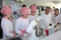 MESLEK LİSESİ - Usta Aşçılar Öğrencilere Ders Verdi