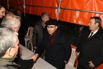 Vali Demirtaş, El Bab Şehidi Jandarma Astsubay Kıdemli Çavuş Duran Keskin'in Ailesine Başsağlığı Diledi