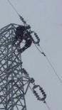 ELEKTRİK TÜKETİMİ - Yoğun Kar Yağışı Elektrik Dağıtım Hatlarını Etkiledi