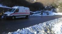 ÖRENCIK - Zonguldak'ta İki Ayrı Trafik Kazası Açıklaması 3 Yaralı