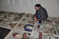 HALEP ÜNİVERSİTESİ - 1,5 milyon taşla padişahların mozaik tablosunu yaptı