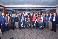 AK Parti'li Yöneticiler Gazeteciler İle Bir Araya Geldi