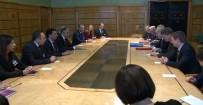 KıBRıS RUM YÖNETIMI - Akıncı İngiltere Dışişleri Bakanı Johnson İle Görüştü
