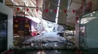 Alışveriş Merkezinin Çatısı Çöktü