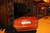 ERDEMIR - Alkollü Sürücü Lokantaya Girerek Durabildi