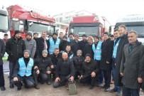 HAYIRSEVERLER - Ardahan Diyanetten Halep'e Yardım Eli