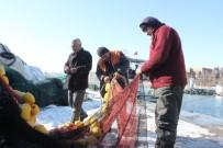 Balıkçıların 'Kar' Molası Bitti