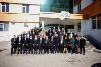 ENERJİ SANTRALİ - Banka Yöneticileri OSB'de Buluştu