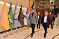 ÖĞRENCILIK - Başkan Böcek'ten Türel'e 'Hayırlı Olsun' Ziyareti
