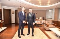 NEVZAT DOĞAN - Başkan Doğan, SEDAŞ Dağıtım Direktörü Şentürk'ü Ağırladı