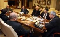 İBRAHIM KARAOSMANOĞLU - Başkan Karaosmanoğlu, Şairler Ve Yazarlar Derneğini Ağırladı