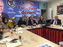 Başkan Köşker, AK Partili Kadınlara Projeleri Anlattı