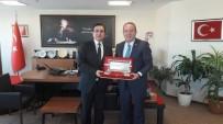 GÜRSOY OSMAN BİLGİN - Başkan Şahiner'den, Kaymakam Bilgin'e Ziyaret