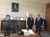 Başkan Yalçın'dan Genel Müdür Yardımcısı Türk'e Ziyaret