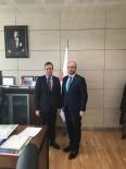 Başkan Yardımcısı Hayrettin Eldemir Müdür Yardımcısı Türk'ü Ziyaret Etti