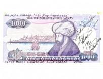 İSMET İNÖNÜ - Bir imza paraya değer kattı