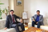 İSMAIL ALTıNDAĞ - Bodrum Kaymakamı Yılmaz'dan Başkan Kocadon'a Ziyaret