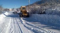 Büyükşehir 550 Km Yolda Karla Mücadele Etti