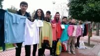CHP'li Gençlerden Askıda Giysi
