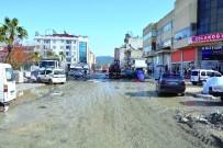 Dalaman'da Atatürk Caddesi Yenileniyor