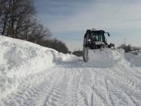 KıRCASALIH - Edirne'de Kar Kalınlığı Yarım Metreye Yaklaştı