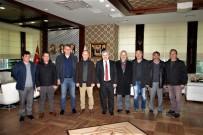 Emekli Personelden Başkan Baran'a Veda Ziyareti