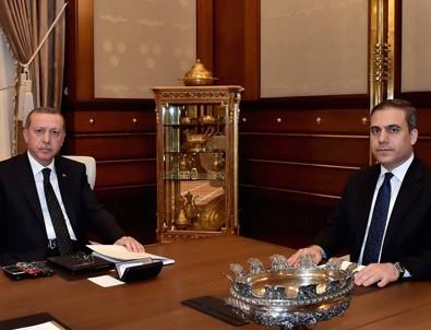 Erdoğan Hakan Fidan'ı kabul etti