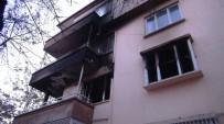 KÖMÜR SOBASI - Gaziantep'te Kömür Sobası Patladı