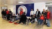 GENÇLİK MERKEZİ - Gençlik Merkezinden Kan Bağışı Kampanyasına Destek