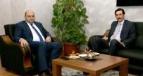 TUNCAY TOPSAKALOĞLU - Kaymakam Topsakaloğlu'ndan Başkan Orhan'a Ziyaret