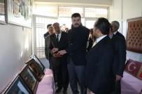 Kaymakam Yosunkaya Halk Eğitim Merkezinde Sergi Açılışını Gerçekleştirdi