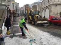 Kırklareli'nde Kar Temizleme Çalışmaları