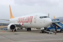UÇAK SEFERİ - Koca Seyit Havalimanı'ndan 366 Bin Kişi Uçtu