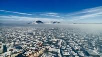 KAR ÖRTÜSÜ - Kula Volkanik Jeoparkı, Güzelliğiyle Büyüledi