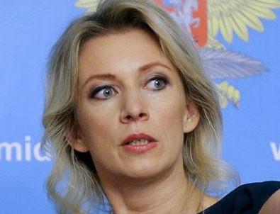 Mariya Zaharova: 9 günde yapabileceklerinden endişeleniyorum